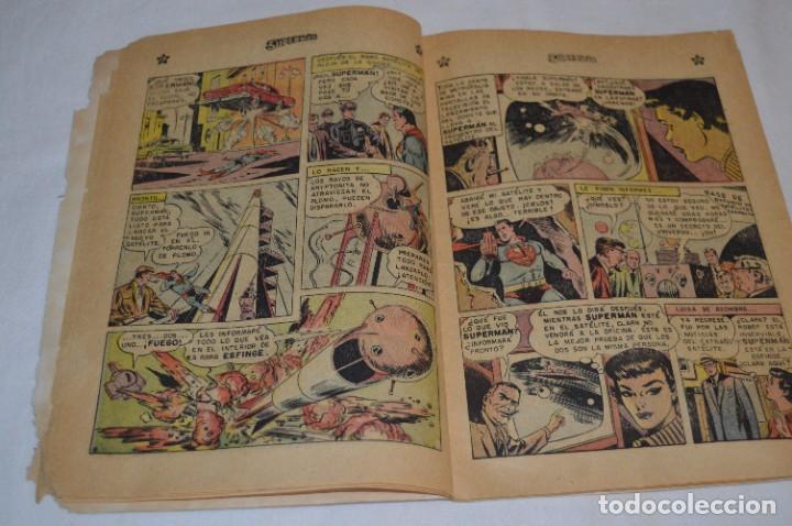 """Tebeos: """"EL ENIGMA DE LA ESFINGE SUPERMAN"""" / Núm 205 / SUPERMAN / NOVARO -Años 50/60 - ¡Mira fotos/detalles! - Foto 8 - 278975673"""