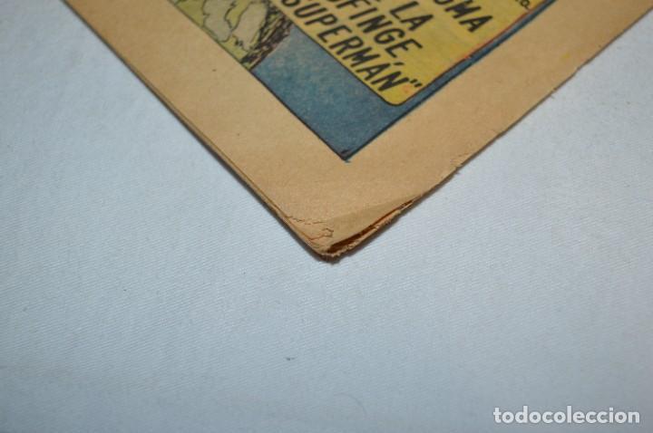 """Tebeos: """"EL ENIGMA DE LA ESFINGE SUPERMAN"""" / Núm 205 / SUPERMAN / NOVARO -Años 50/60 - ¡Mira fotos/detalles! - Foto 18 - 278975673"""