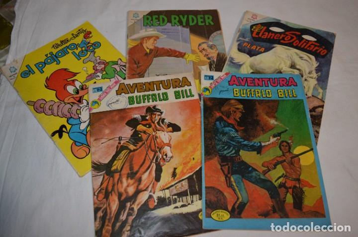 NOVARO 5 COMICS / EJEMPLARES - TÍTULOS/PERSONAJES VARIADOS - ANTIGUOS ¡MIRA FOTOS/DETALLES! LOTE 02 (Tebeos y Comics - Novaro - Otros)