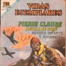Tebeos: REVISTA INFANTIL Y JUVENIL VIDAS EJEMPLARES: PIERRE CLAUDE AGUILA DE DIOS. A-COMIC-6306. Lote 279461968