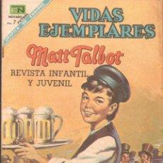Tebeos: REVISTA INFANTIL Y JUVENIL VIDAS EJEMPLARES: MATT TALBOT. AÑO XV, Nº278. A-COMIC-6307. Lote 279462068