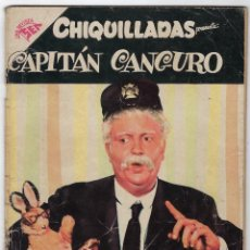Tebeos: CHIQUILLADAS: CAPITAN CANGURO - AÑO VI - Nº 69 - MAYO 1º DE 1958 ** EDITORIAL SEA - NOVARO **. Lote 279511718