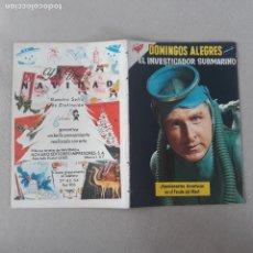 Livros de Banda Desenhada: DOMINGOS ALEGRES NOVARO Nº 337 EL INVESTIGADOR SUBMARINO SEA HUNT. Lote 282864068