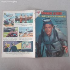 Livros de Banda Desenhada: DOMINGOS ALEGRES NOVARO Nº 351 EL INVESTIGADOR SUBMARINO SEA HUNT. Lote 282864093