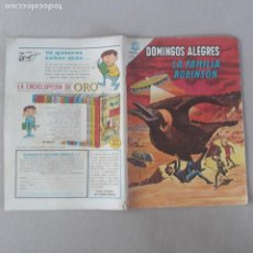 Livros de Banda Desenhada: DOMINGOS ALEGRES NOVARO Nº 576 LA FAMILIA ROBINSON. Lote 282864288