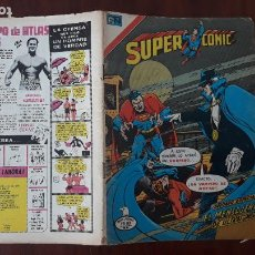 Tebeos: SUPERCOMIC NOVARO Nº 163 SUPERMAN Y BATMAN. Lote 283108498