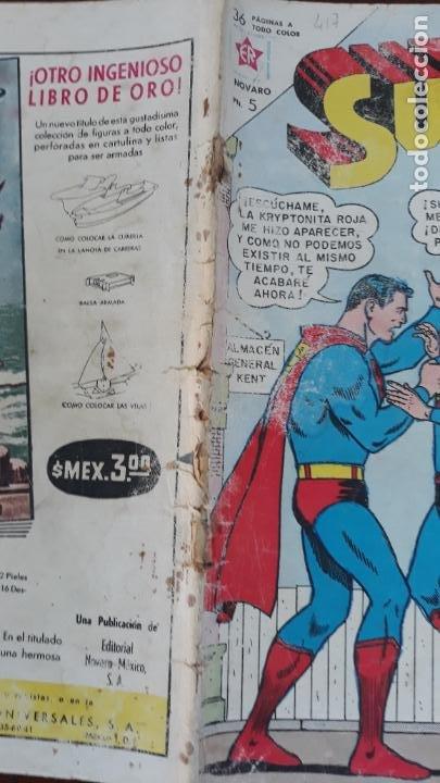 Tebeos: Superman Novaro Nº 417 - Foto 2 - 283109463