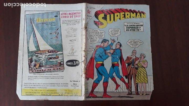 SUPERMAN NOVARO Nº 417 (Tebeos y Comics - Novaro - Superman)