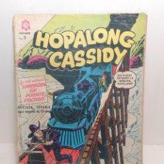 "Tebeos: COMIC: ""HOPALONG CASSIDY"" EDIT. NOVARO Nº 140. Lote 283812088"