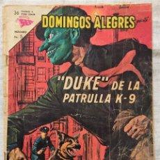 Tebeos: DOMINGOS ALEGRES Nº 499 - DUKE DE LA PATRULLA K-9 - EDITORIAL NOVARO. Lote 283903103