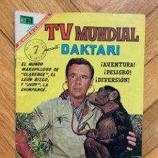 Livros de Banda Desenhada: TV MUNDIAL Nº 143 - DAKTARI Nº 1. Lote 285128163