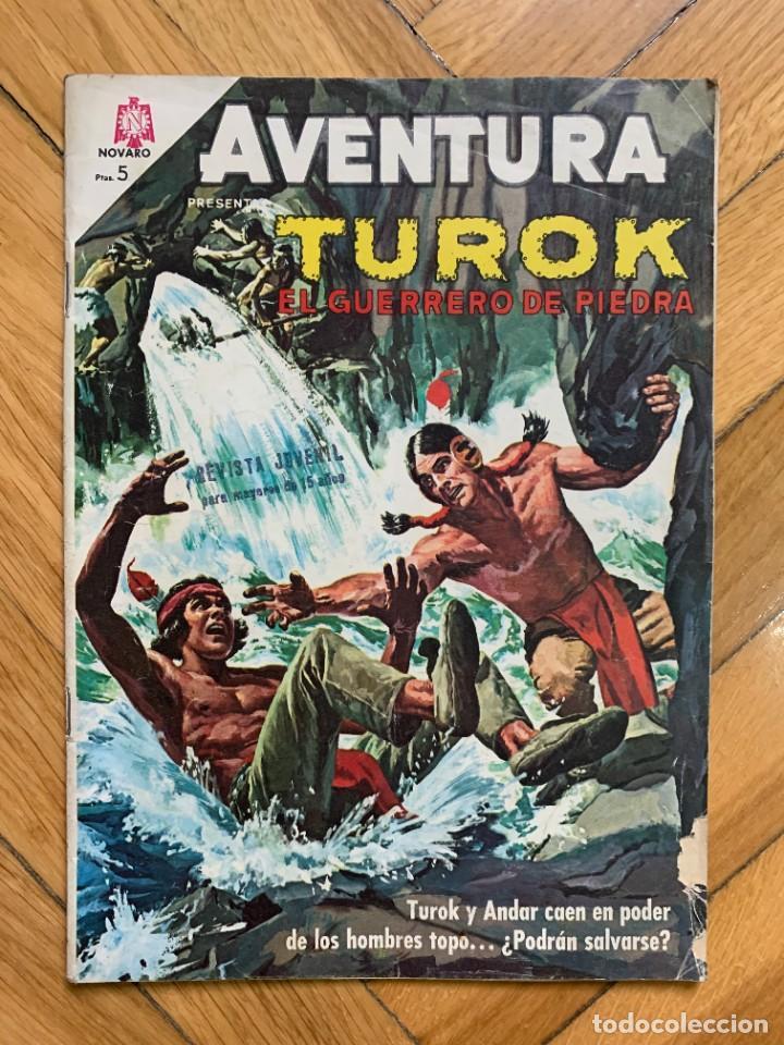 AVENTURA PRESENTA: TUROK Nº 429 (Tebeos y Comics - Novaro - Aventura)