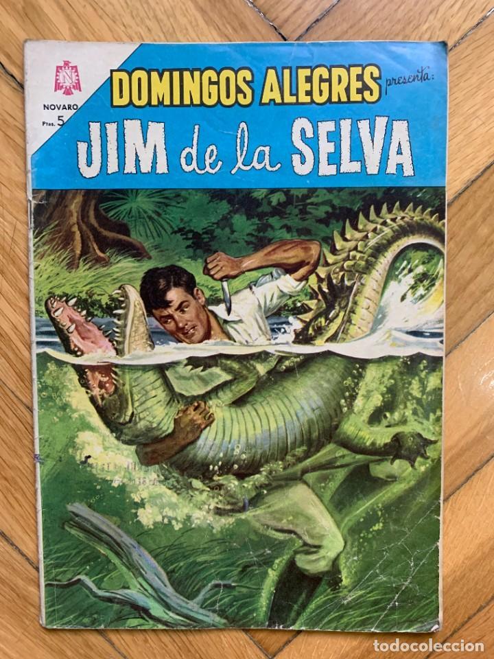 DOMINGOS ALEGRES PRESENTA: JIM DE LA SELVA 548 (Tebeos y Comics - Novaro - Domingos Alegres)