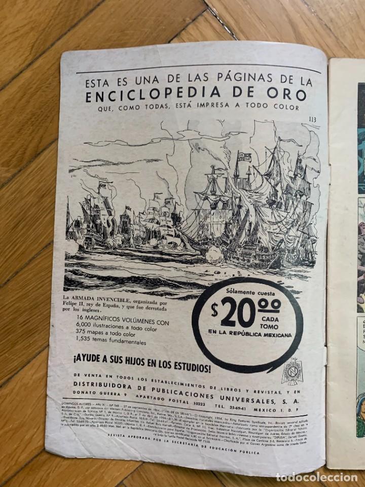 Tebeos: Domingos Alegres Presenta: Jim de la Selva 548 - Foto 2 - 285131713