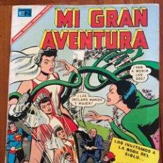 Tebeos: MI GRAN AVENTURA - Nº 86. NOVARO - 1967.. Lote 285733918