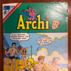 Tebeos: ARCHI, Nº 2 - 863. EDITORIAL NOVARO, SERIE AGUILA - 1980.. Lote 285763203