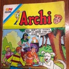 Tebeos: ARCHI, Nº 2 - 1021. EDITORIAL NOVARO, SERIE AGUILA - 1983.. Lote 285764308