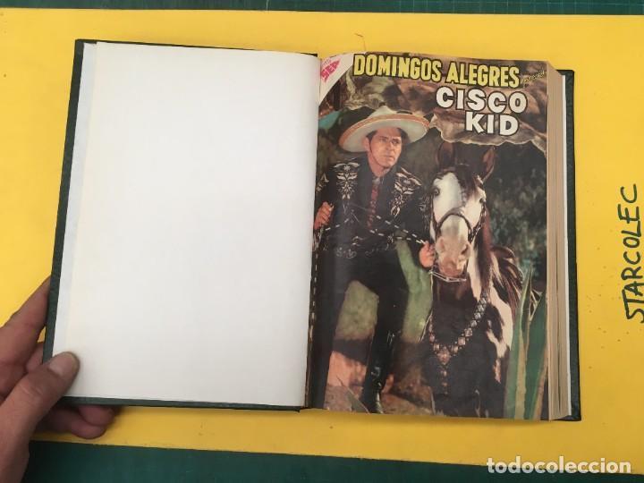 Tebeos: DOMINGOS ALEGRES NOVARO. 1 TOMO DE 11 NUMEROS (VER DESCRIPCION) EDITORIAL NOVARO AÑO 1958-1964 - Foto 3 - 285997388