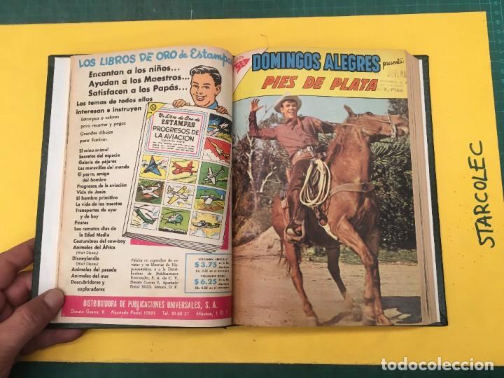 Tebeos: DOMINGOS ALEGRES NOVARO. 1 TOMO DE 11 NUMEROS (VER DESCRIPCION) EDITORIAL NOVARO AÑO 1958-1964 - Foto 4 - 285997388