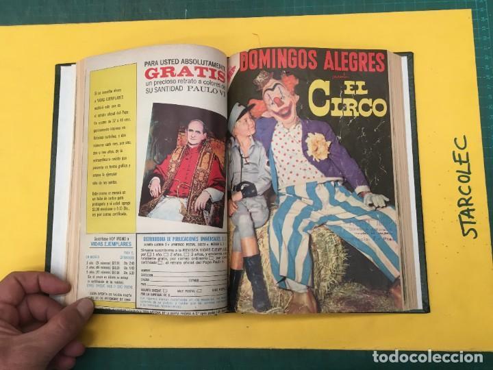 Tebeos: DOMINGOS ALEGRES NOVARO. 1 TOMO DE 11 NUMEROS (VER DESCRIPCION) EDITORIAL NOVARO AÑO 1958-1964 - Foto 7 - 285997388