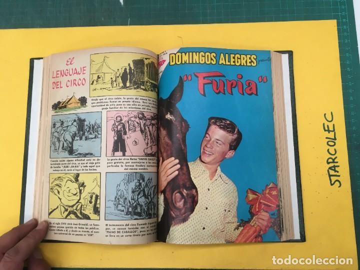 Tebeos: DOMINGOS ALEGRES NOVARO. 1 TOMO DE 11 NUMEROS (VER DESCRIPCION) EDITORIAL NOVARO AÑO 1958-1964 - Foto 8 - 285997388