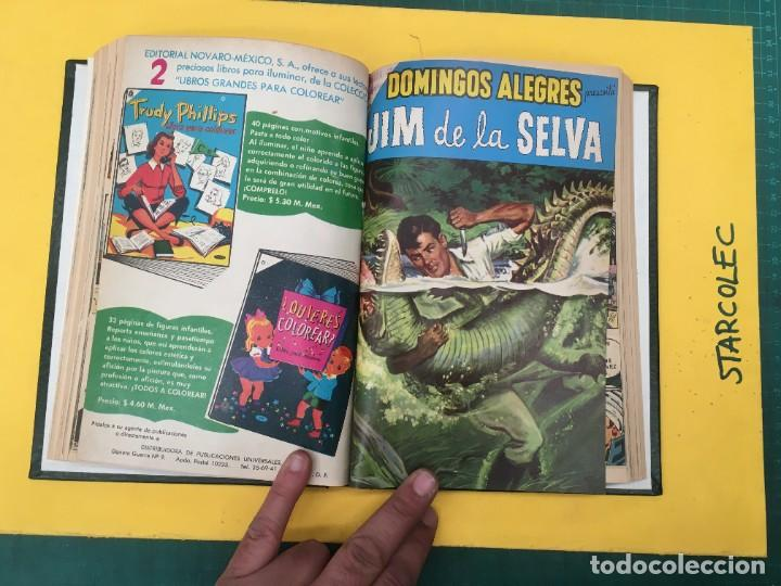 Tebeos: DOMINGOS ALEGRES NOVARO. 1 TOMO DE 11 NUMEROS (VER DESCRIPCION) EDITORIAL NOVARO AÑO 1958-1964 - Foto 9 - 285997388
