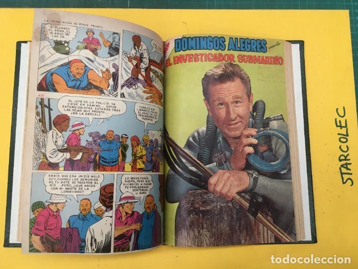 Tebeos: DOMINGOS ALEGRES NOVARO. 1 TOMO DE 11 NUMEROS (VER DESCRIPCION) EDITORIAL NOVARO AÑO 1958-1964 - Foto 10 - 285997388