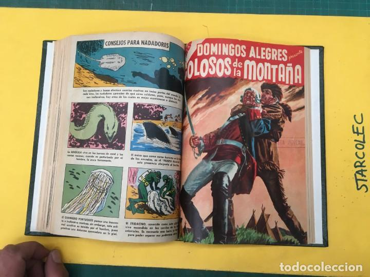 Tebeos: DOMINGOS ALEGRES NOVARO. 1 TOMO DE 11 NUMEROS (VER DESCRIPCION) EDITORIAL NOVARO AÑO 1958-1964 - Foto 11 - 285997388