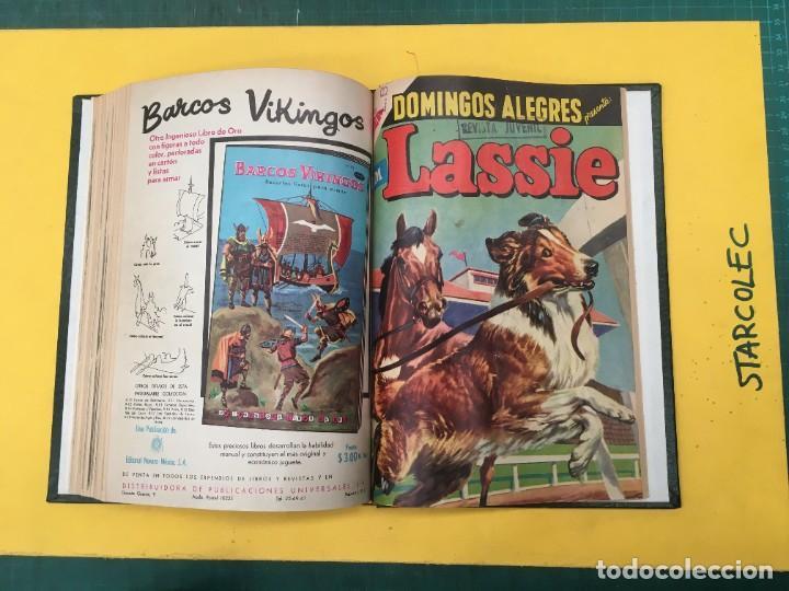 Tebeos: DOMINGOS ALEGRES NOVARO. 1 TOMO DE 11 NUMEROS (VER DESCRIPCION) EDITORIAL NOVARO AÑO 1958-1964 - Foto 13 - 285997388
