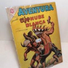 """Tebeos: COMIC: """"AVENTURA EL JEFE NUBE BLANCA"""" EDIT. NOVARO. Lote 286001843"""