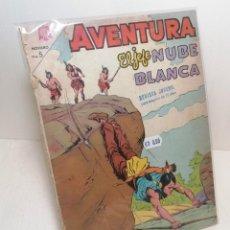 """Tebeos: COMIC: """"AVENTURA EL JEFE NUBE BLANCA"""" EDIT. NOVARO. Lote 286165728"""
