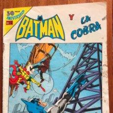 Livros de Banda Desenhada: BATMAN, Nº 2 - 1053. NOVARO, SERIE AGUILA, 1980.. Lote 286168878