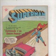 Tebeos: SUPERMAN Nº 145 NOVARO.1958. Lote 286191658