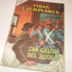 Tebeos: VIDAS EJEMPLARES 182.EDITORIAL NOVARO,AÑOS 60.. Lote 286247978