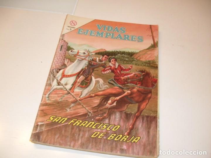 VIDAS EJEMPLARES 169.EDITORIAL NOVARO,AÑOS 60. (Tebeos y Comics - Novaro - Vidas ejemplares)