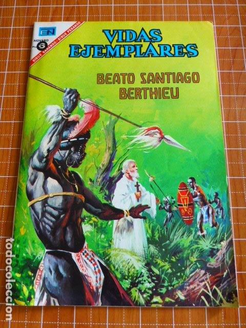 COMIC VIDAS EJEMPLARES BEATO SANTIAGO BERTHIEU Nº 240 1967 DE NOVARO (Tebeos y Comics - Novaro - Vidas ejemplares)