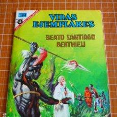 Tebeos: COMIC VIDAS EJEMPLARES BEATO SANTIAGO BERTHIEU Nº 240 1967 DE NOVARO. Lote 286285593