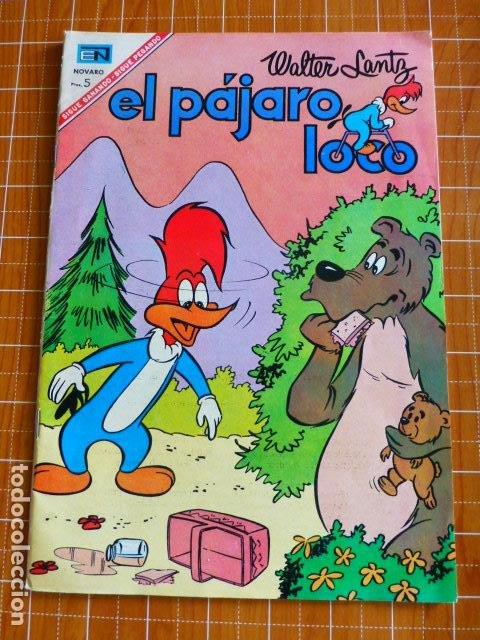 COMIC PAJARO LOCO Nº 292 1967 DE NOVARO (Tebeos y Comics - Novaro - Otros)