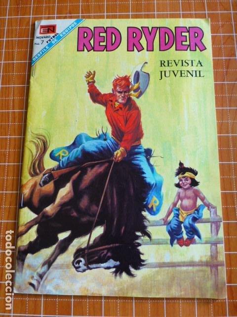 COMIC RED RYDER Nº 186 1968 DE NOVARO (Tebeos y Comics - Novaro - Red Ryder)