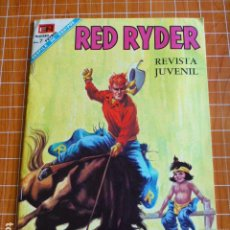 Tebeos: COMIC RED RYDER Nº 186 1968 DE NOVARO. Lote 286299408