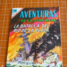 Tebeos: COMIC AVENTURAS DE LA VIDA REAL LA BATALLA DEL RIO DE LA PLATA Nº 135 1967 DE NOVARO. Lote 286323058