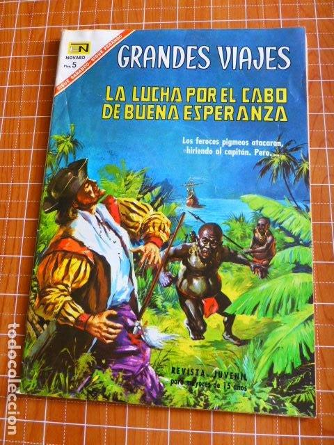 CABO ESPERANZA GRANDES VIAJES Nº 50 DE NOVARO (Tebeos y Comics - Novaro - Grandes Viajes)