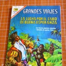 Tebeos: CABO ESPERANZA GRANDES VIAJES Nº 50 DE NOVARO. Lote 286336283