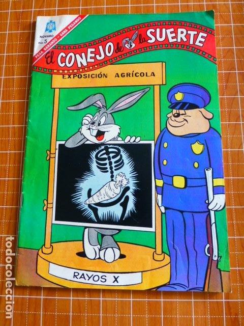 EL CONEJO DE LA SUERTE Nº 253 DE NOVARO (Tebeos y Comics - Novaro - El Conejo de la Suerte)