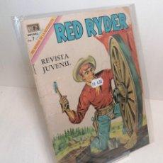 "Tebeos: COMIC: ""RED RYDER"" EDIT NOVARO 7 PTAS. Lote 286339628"