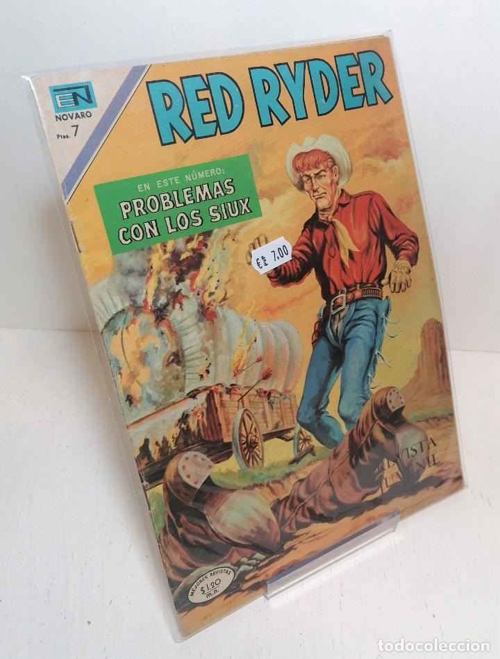 """COMIC: """"RED RYDER PROBLEMAS CON LOS SIUX"""" EDIT NOVARO (Tebeos y Comics - Novaro - Red Ryder)"""
