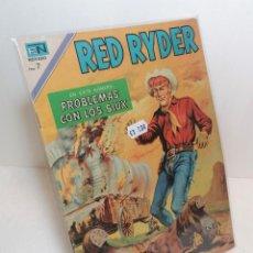 """Tebeos: COMIC: """"RED RYDER PROBLEMAS CON LOS SIUX"""" EDIT NOVARO. Lote 286342123"""