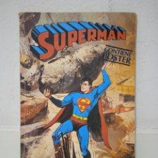 Tebeos: LIBROCOMIC SUPERMÁN CONTIENE POSTER 48. Lote 286562768