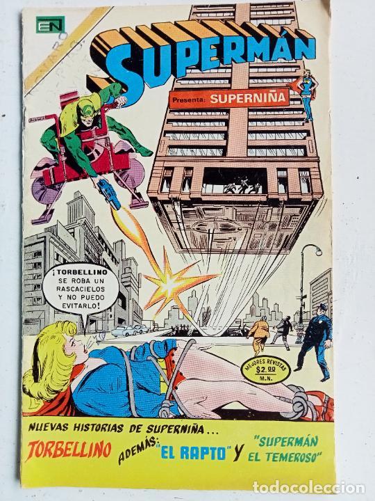 TEBEO SUPERMAN Nº 954, NOVARO 1974 (Tebeos y Comics - Novaro - Superman)