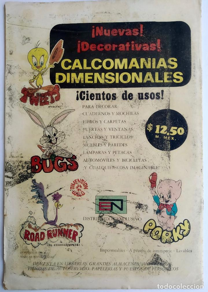 Tebeos: Relatos Fabulosos 144 (1971) - Ed. Novaro - México - Buen estado - Foto 4 - 286802808